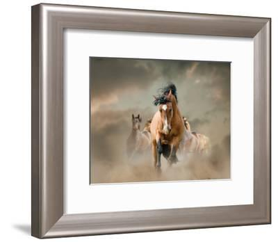 Against The Wind-Maria Itina-Framed Art Print