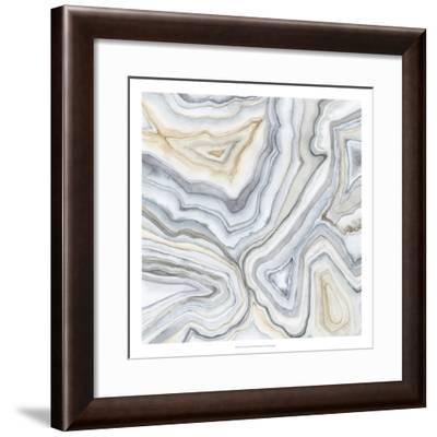 Agate Abstract II-Megan Meagher-Framed Premium Giclee Print