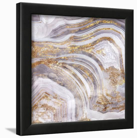 Agate Allure I--Framed Art Print