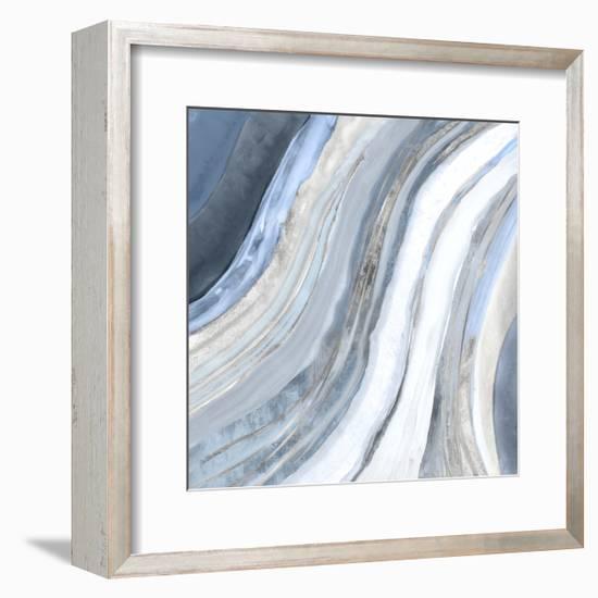 Agate I Silver Version-PI Studio-Framed Art Print