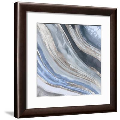 Agate II Silver Version-PI Studio-Framed Art Print