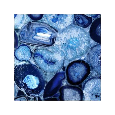 Agate in Blue II-Danielle Carson-Giclee Print