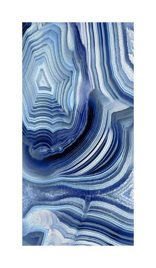 Agate Indigo I-Danielle Carson-Giclee Print