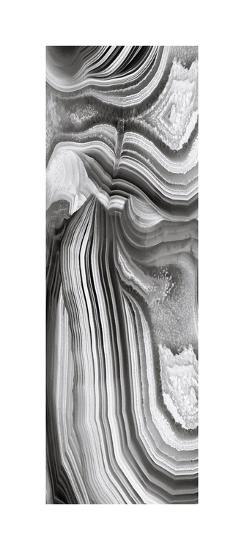 Agate Panel Grey II-Danielle Carson-Giclee Print