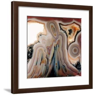 Agate Slice-Dirk Wiersma-Framed Premium Photographic Print