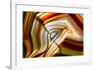 Agate Stone-cienpies-Framed Photographic Print
