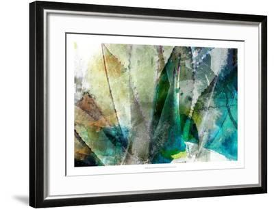 Agave Abstract II-Sisa Jasper-Framed Giclee Print