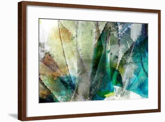 Agave Abstract II-Sisa Jasper-Framed Art Print