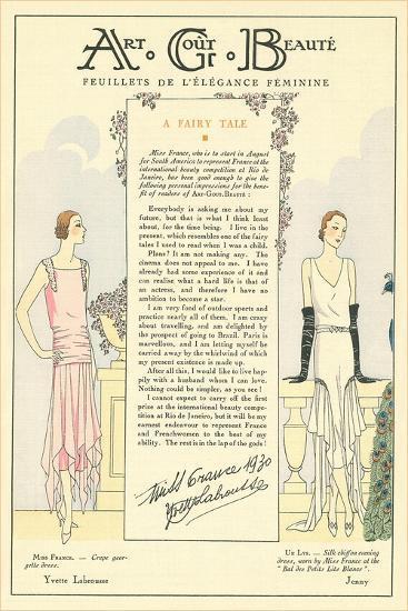 AGB Fashion Magazine--Art Print