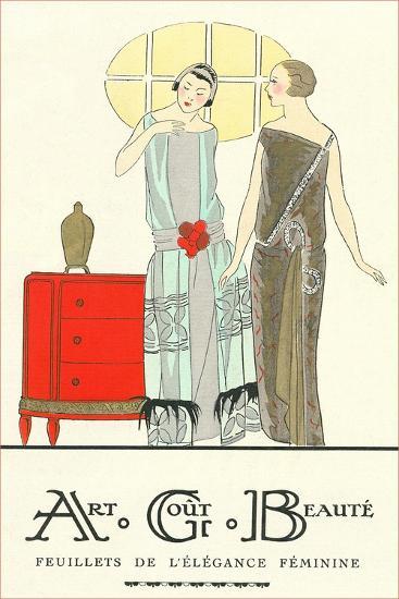 AGB French Fashion Illustration--Art Print