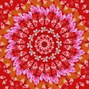 Red Mandala by AGCuesta