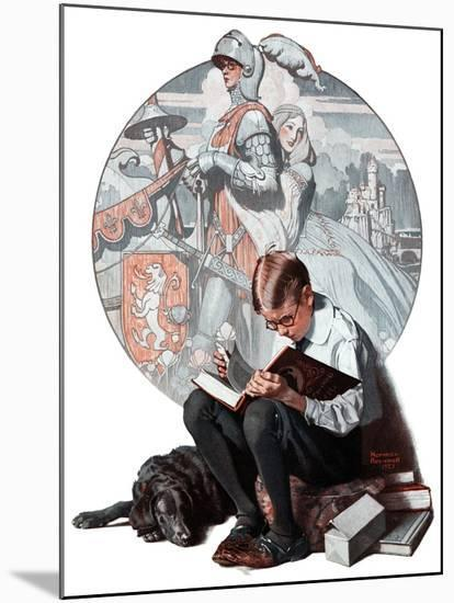"""""""Age of Romance"""", November 10,1923-Norman Rockwell-Mounted Giclee Print"""