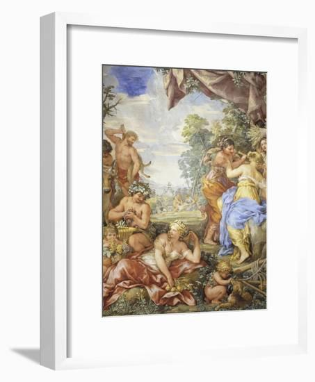 Age of Silver, Detail from Four Ages of Man, 1637-1641-Pietro da Cortona-Framed Giclee Print