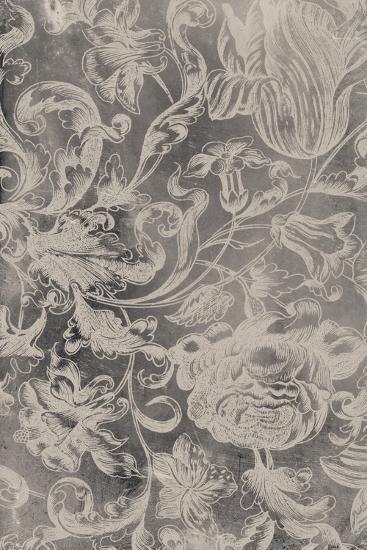 Aged Floral I-Vision Studio-Premium Giclee Print