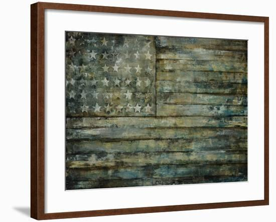 Aged Glory-Sydney Edmunds-Framed Giclee Print