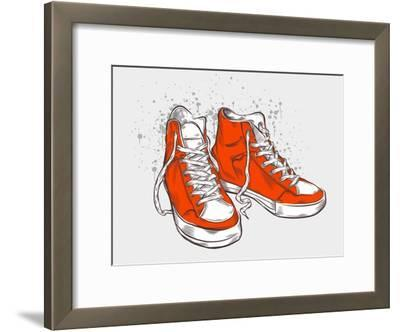 Hand-Drawn Sneakers