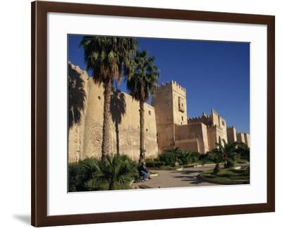 Aghlabid Ramparts, Walls of Medina, Sfax, Tunisia, North Africa, Africa-Poole David-Framed Photographic Print
