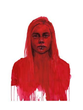 Echo From The Deep Red Within by Agnes Cecile