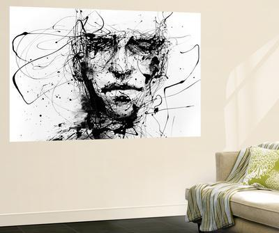 Lines Hold The Memories · Agnes Cecile. Wall Mural  sc 1 st  Art.com & Beautiful wall-murals artwork for sale Posters and Prints | The NEW ...