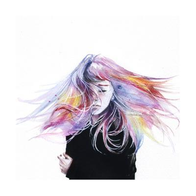 Little Girl by Agnes Cecile