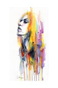 Sunshower by Agnes Cecile