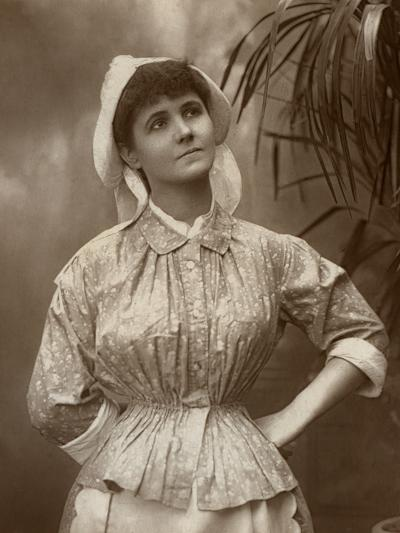 Agnes Hewitt, British Actress, 1887-HS Mandelssohn-Photographic Print