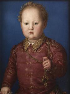 Garzia De? Medici by Agnolo Bronzino