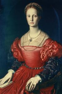 Lucrezia Panchiatichi, C1540 by Agnolo Bronzino
