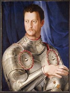 Portrait of Cosimo I De' Medici, C.1545 by Agnolo Bronzino