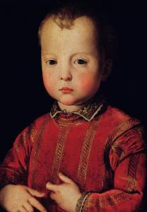 Portrait of Don Garcia by Agnolo Bronzino