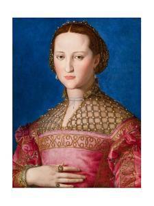 Portrait of Eleanor of Toledo, c.1543 by Agnolo Bronzino