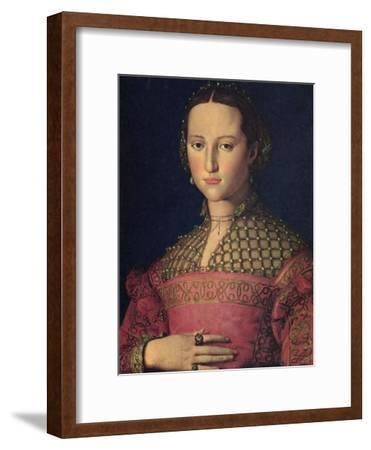 Portrait of Eleanor of Toledo, Wife of Grand Duke Cosimo I De' Medici, C1545