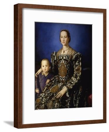 Portrait of Eleanor of Toledo with Her Son Giovanni, Ca 1545