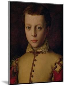 Portrait of Ferdinando De' Medici (1549-1609) (Ferdinand I, Grand Duke of Tuscany) by Agnolo Bronzino