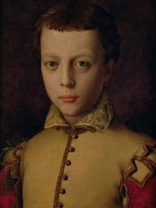 Portrait of Ferdinando De' Medici (1549-1609) (Ferdinand I, Grand Duke of Tuscany) by Agnolo Bronzino