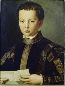 Portrait of Francesco I De'Medici by Agnolo Bronzino