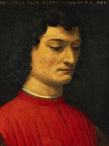 Portrait of Giuliano De Medici by Agnolo Bronzino