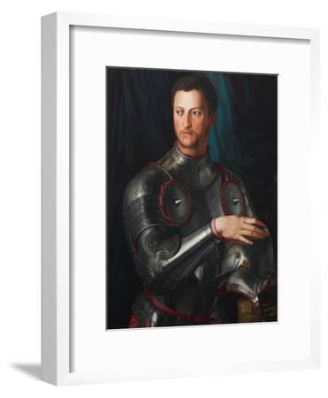 Portrait of Grand Duke of Tuscany Cosimo I De' Medici (1519-157) in Armour, Ca 1545