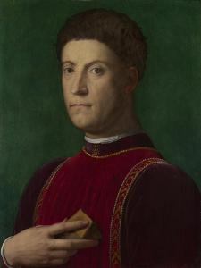 Portrait of Piero De' Medici (The Gout), Ca 1550-1565 by Agnolo Bronzino