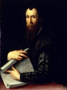 Portrait of the Engineer Luca Martini by Agnolo Bronzino
