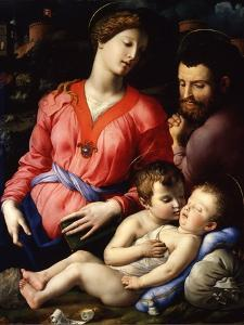 The Holy Family, C.1540 by Agnolo Bronzino