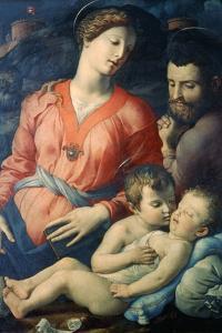 The Panciatichi Holy Family, 1530-1532 by Agnolo Bronzino