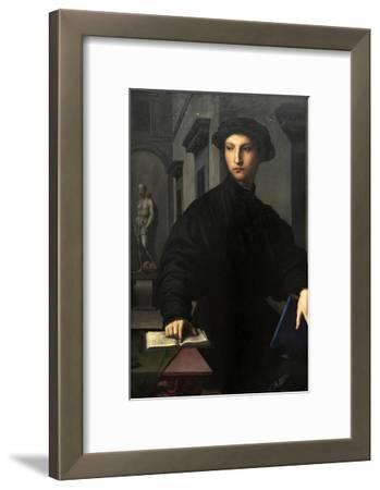 Ugolino Martelli (1519-1592). 1536-1537. Portrait by Il Bronzino (1503-1572)