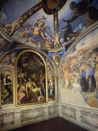 Italy, Florence, Palazzo Vecchio, Chapel of Eleonoraes, 1545