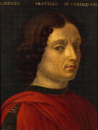 Portrait of Lorenzo De Medici the Elder, Circa 1565-1569