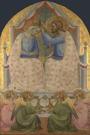 The Coronation of the Virgin. About 1380-85