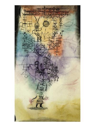 Agnus Dei, Qui Tollis Peccata Mundi, 1918/ 20-Paul Klee-Giclee Print