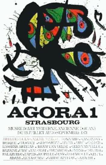 Agora I-Joan Mir?-Collectable Print