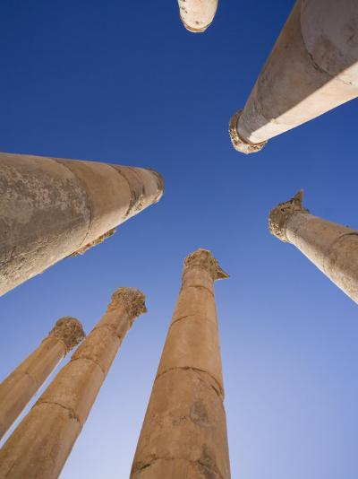 Agora, Jerash, Jordan-Michele Falzone-Photographic Print