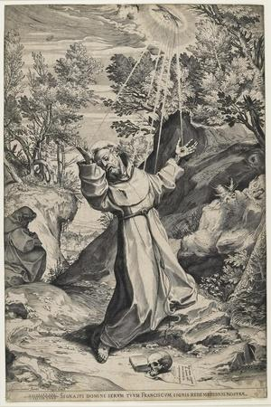 Saint Francis Recieving the Stigmata, 1586